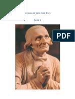 Sermons Du Saint Cure d Ars Tome 1