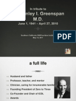A Tribute to Dr Greenspan Socal Inst 051411