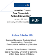 Connection Counts- Core Elements in Autism Intervention UCSD January 25 2012 (Redacted for Posting)