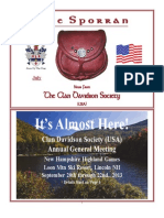 Clan Davidson quarterly newsletter (June 2013)
