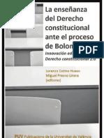 Ponencia Innovacion Educativa en Derecho Constitucional 2011
