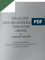 Corinne Heline - Healing and Regeneration Through Music