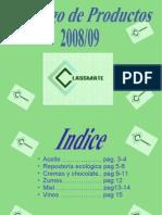 Catalogo Classmate