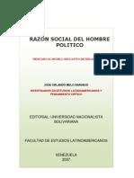 RAZON SOCIAL DEL HOMBRE POLITICO