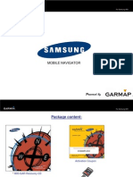 Samsung Mobile Navigator i900