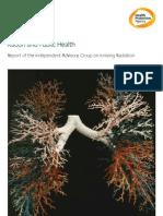 Radon and Public Health