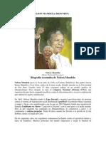 Biografia de Nelson Mandela