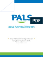 PALS Annual Report 2012