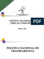 Transparencia Caja Nacional de Salud