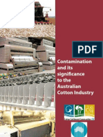 Reports on Cotton Contamination