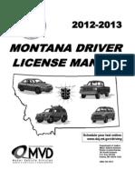 MonTana Manual 2012-13