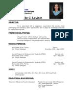 Azelle Resume