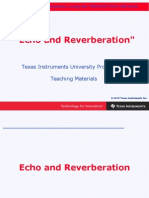 Chapter 3 Echo and Reverberation