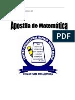 Apostila de Matemática