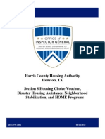 2013 U.S. HUD audit of Harris County Housing Authority