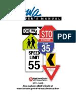 IowA Manual 2012-13