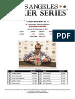 2013 LA Poker Series Event 14 - The Bicycle Casino