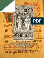 I y II Vísperas. San Pedro y San Pablo. 29 de junio. Forma extraordinaria del Rito Romano. Folleto Bilingüe