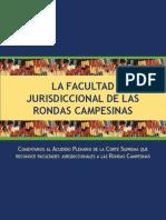 Facultad de Rondas Campesinas. Jurisdcc