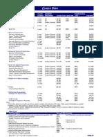 Price List - 2009 - 2
