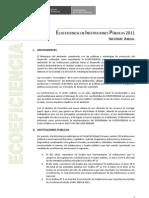 ECOEFICIENCIA EN INSTITUCIONES PÚBLICAS 2011 - Informe Anual