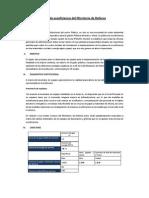 Plan de Ecoeficiencia Ministerio de Defensa-mindef 2011