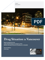 Drug Situation in Vancouver