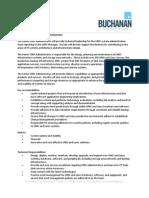 Sr. Unix Administrator - Job Description