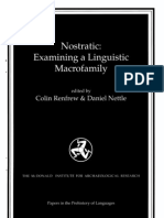 """Bomhard - Review of Dolgopolsky """"The Nostratic Hypothesis and Lingustic Palaeontology"""""""
