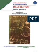 02 25 ORIGINAL El Mensaje de Acuario Www.gftaognosticaespiritual.org