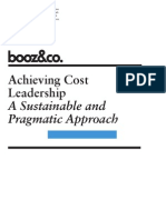 Achieving Cost Leadership