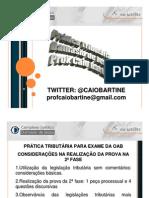 Pratica Tributaria - Oab 2 Fase - Damasio1