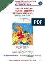 02 34 ORIGINAL Plataforma Del POSCLA Www.gftaognosticaespiritual.org
