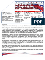 July 2013 FUMC Newsletter