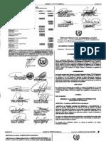 Acuerdo Gubernativo 105-2009 Prohibicion 2 Personas en Moto