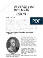 Curso de PSD Para HTML x Css