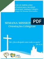 Orientações Litúrgicas SM JMJ - Diocese de Imperatriz