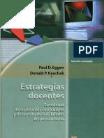Eggen P. 2005 Estrategias Docentes Cap II