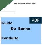 Guide de Bonne Conduite