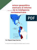 Una lectura geopolítica latinoamericana al informe 2030 de la inteligencia norteamericana