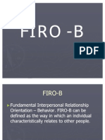 Firo-b Powrpoint