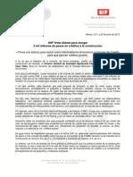 23-06-13  SHF FIRMA ALIANZA PARA OTORGAR 2 MIL MILLONES DE PESOS EN CREDITOS A LA CONSTRUCCION