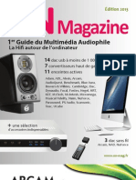 Guide du multimédia audiophile 2013 - ON Magazine