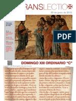 Domingo XIII T.O. (C)