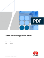 VRRP Technology White Paper