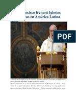Noticias Papa Francisco