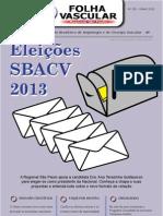 Folha da Sociedade Brasileira de Angiologia e Cirurgia Vascular n˚150.