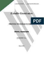 Proyecto Eolico Orosi_Estudio Geotecnico Final_2011 03 02