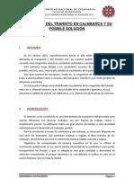 INFORME DE CONGESTIÓN VEHICULAR