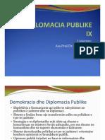 DIPLOMACIA PUBLIKE IX